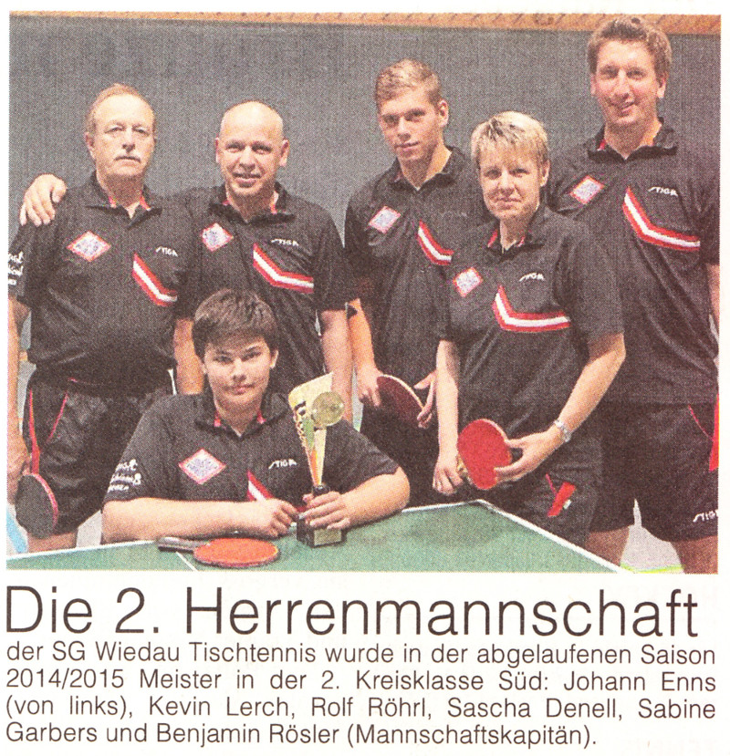 2. Herren Meister 02.08.15